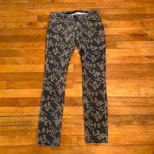 4/$40 - VANILLA STAR Skinny Printed Jeans - Size 3